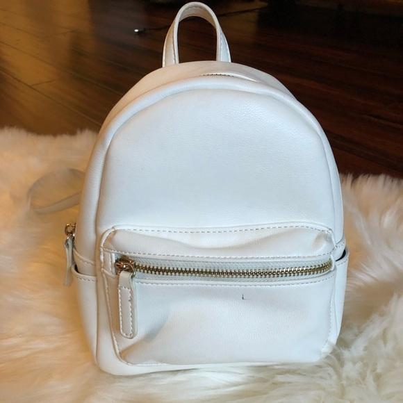 d5ff663fecea Forever 21 Handbags - Mini white forever 21 backpack